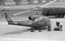 masahiさんが、静岡市安倍川河川敷で撮影した陸上自衛隊 UH-1Bの航空フォト(飛行機 写真・画像)