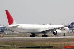 湖景さんが、成田国際空港で撮影した日本航空 777-346/ERの航空フォト(飛行機 写真・画像)