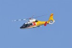 kumagorouさんが、仙台空港で撮影した東邦航空 SA365N1 Dauphin 2の航空フォト(飛行機 写真・画像)