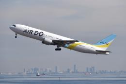 turenoアカクロさんが、羽田空港で撮影したAIR DO 767-381/ERの航空フォト(飛行機 写真・画像)