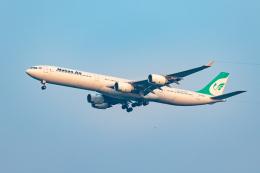 01yy07さんが、スワンナプーム国際空港で撮影したマーハーン航空 A340-642の航空フォト(飛行機 写真・画像)