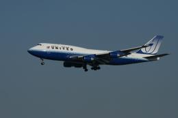 flyskyさんが、成田国際空港で撮影したユナイテッド航空 747-422の航空フォト(飛行機 写真・画像)