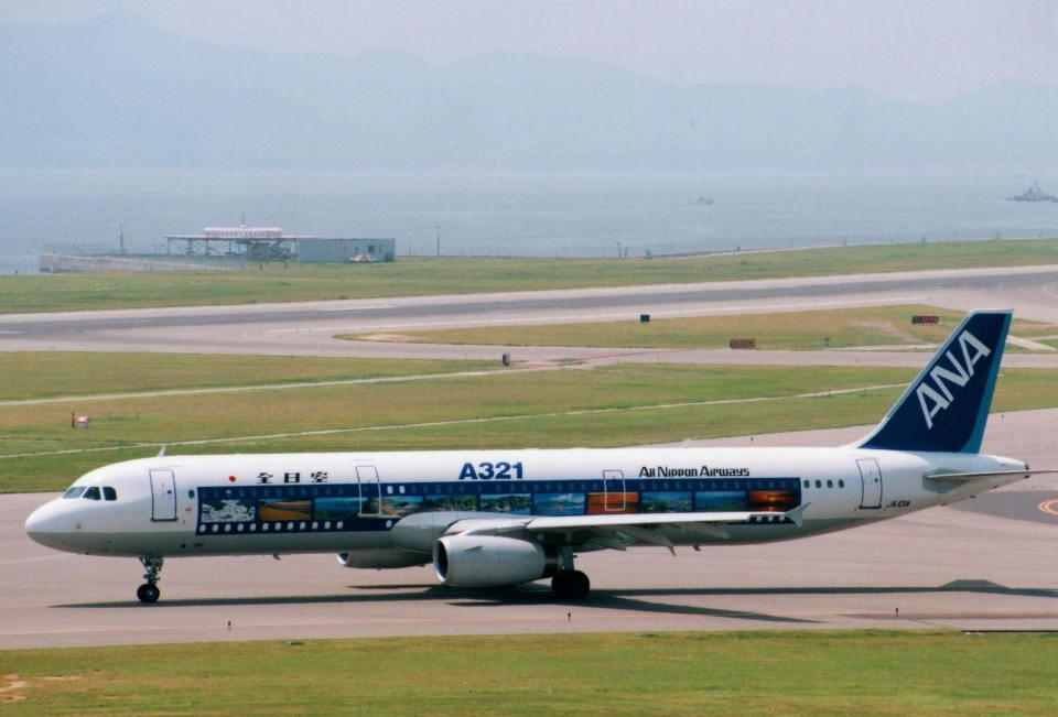 shibu03さんの全日空 Airbus A321 (JA101A) 航空フォト