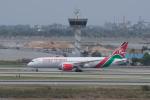 かずまっくすさんが、スワンナプーム国際空港で撮影したケニア航空 787-8 Dreamlinerの航空フォト(飛行機 写真・画像)