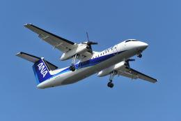 ポン太さんが、羽田空港で撮影したANAウイングス DHC-8-314Q Dash 8の航空フォト(飛行機 写真・画像)