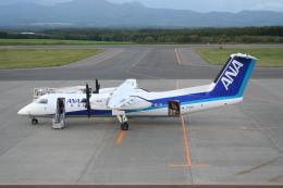 shibu03さんが、中標津空港で撮影したエアーニッポンネットワーク DHC-8-314Q Dash 8の航空フォト(飛行機 写真・画像)
