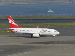蒲田っ子さんが、羽田空港で撮影したグルジアン・エアウェイズ 737-76Nの航空フォト(飛行機 写真・画像)