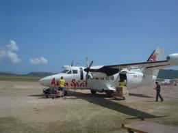 Guwapoさんが、ブスアンガ空港で撮影したアジアンスピリット L-410UVP-E Turboletの航空フォト(飛行機 写真・画像)
