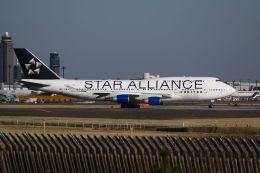 tomoMTさんが、成田国際空港で撮影したユナイテッド航空 747-422の航空フォト(飛行機 写真・画像)