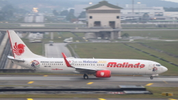 誘喜さんが、クアラルンプール国際空港で撮影したマリンド・エア 737-9GP/ERの航空フォト(飛行機 写真・画像)