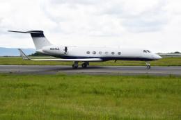 Gambardierさんが、岡山空港で撮影したウェルズ・ファーゴ・バンク・ノースウェスト G-Vの航空フォト(飛行機 写真・画像)
