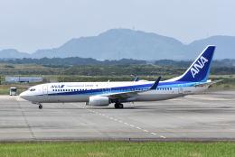ワイエスさんが、静岡空港で撮影した全日空 737-881の航空フォト(飛行機 写真・画像)