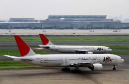 shibu03さんが、羽田空港で撮影した日本航空 777-289の航空フォト(飛行機 写真・画像)