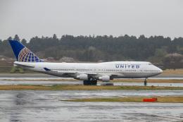Yuko Yamaguchiさんが、成田国際空港で撮影したユナイテッド航空 747-422の航空フォト(飛行機 写真・画像)
