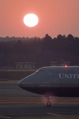 planetさんが、成田国際空港で撮影したユナイテッド航空 747-400の航空フォト(飛行機 写真・画像)