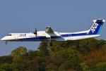 あしゅーさんが、福岡空港で撮影したANAウイングス DHC-8-402Q Dash 8の航空フォト(飛行機 写真・画像)