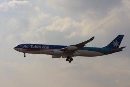 ゆう.さんが、成田国際空港で撮影したエア・タヒチ・ヌイ A340-313Xの航空フォト(飛行機 写真・画像)