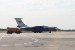 Musondaさんが、ハバロフスク・ノーヴイ空港で撮影したロシア内務省 Il-76MDの航空フォト(飛行機 写真・画像)