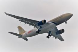 Hiro Satoさんが、スワンナプーム国際空港で撮影したガルフ・エア A330-243の航空フォト(飛行機 写真・画像)