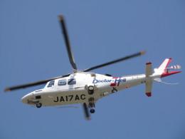 チダ.ニックさんが、静岡ヘリポートで撮影した中日本バンリース AW109SP GrandNewの航空フォト(飛行機 写真・画像)