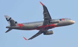 kenko.sさんが、シェムリアップ国際空港で撮影したジェットスター・アジア A320-232の航空フォト(飛行機 写真・画像)