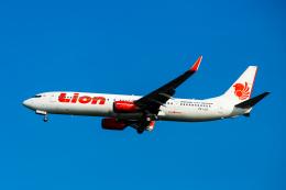 01yy07さんが、シンガポール・チャンギ国際空港で撮影したライオン・エア 737-9GP/ERの航空フォト(飛行機 写真・画像)