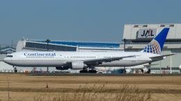 Bluewingさんが、成田国際空港で撮影したコンチネンタル航空 767-424/ERの航空フォト(飛行機 写真・画像)