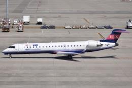 冷やし中華始めましたさんが、中部国際空港で撮影したアイベックスエアラインズ CL-600-2C10 Regional Jet CRJ-702ERの航空フォト(飛行機 写真・画像)