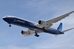 romyさんが、ボーイングフィールドで撮影したボーイング 777-9-versionの航空フォト(飛行機 写真・画像)