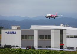 タミーさんが、釧路空港で撮影したピーチ A320-214の航空フォト(飛行機 写真・画像)
