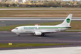 jombohさんが、デュッセルドルフ国際空港で撮影したゲルマニア 737-329の航空フォト(飛行機 写真・画像)
