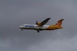jombohさんが、ロンドン・ガトウィック空港で撮影したオーリニー・エア・サービス ATR-72-600の航空フォト(飛行機 写真・画像)