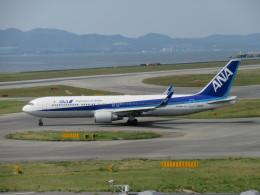 LOVE767さんが、関西国際空港で撮影した全日空 767-381/ERの航空フォト(飛行機 写真・画像)