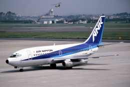なごやんさんが、名古屋飛行場で撮影したエアーニッポン 737-281/Advの航空フォト(飛行機 写真・画像)
