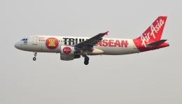 kenko.sさんが、シェムリアップ国際空港で撮影したタイ・エアアジア A320-216の航空フォト(飛行機 写真・画像)