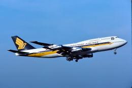 パール大山さんが、成田国際空港で撮影したシンガポール航空 747-312の航空フォト(飛行機 写真・画像)