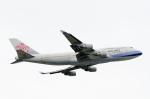 ぎんじろーさんが、成田国際空港で撮影したチャイナエアライン 747-409の航空フォト(飛行機 写真・画像)