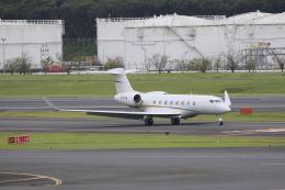 ☆ライダーさんが、成田国際空港で撮影したウェルズ・ファーゴ・バンク・ノースウェスト G650 (G-VI)の航空フォト(飛行機 写真・画像)