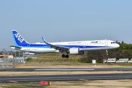 ポン太さんが、成田国際空港で撮影した全日空 A321-272Nの航空フォト(飛行機 写真・画像)