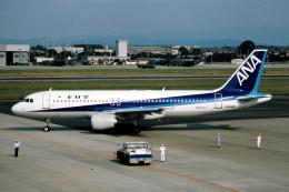 なごやんさんが、名古屋飛行場で撮影した全日空 A320-211の航空フォト(飛行機 写真・画像)