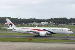 SGR RT 改さんが、成田国際空港で撮影したマレーシア航空 A350-941の航空フォト(飛行機 写真・画像)