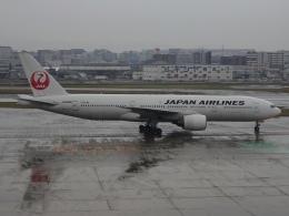 Blue605Aさんが、福岡空港で撮影した日本航空 777-289の航空フォト(飛行機 写真・画像)