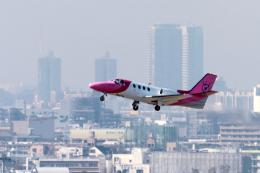 senyoさんが、羽田空港で撮影した産経新聞社 501 Citation I/SPの航空フォト(飛行機 写真・画像)
