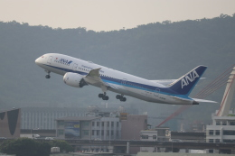 hanatomo735さんが、台北松山空港で撮影した全日空 787-8 Dreamlinerの航空フォト(飛行機 写真・画像)