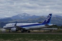 gomachanさんが、大館能代空港で撮影した全日空 A320-271Nの航空フォト(飛行機 写真・画像)