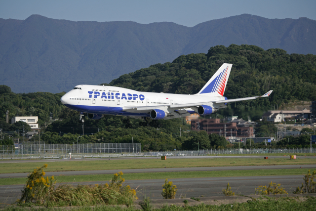 tsubameさんが、福岡空港で撮影したトランスアエロ航空 747-412の航空フォト(飛行機 写真・画像)