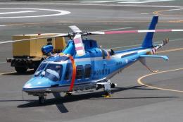 TUILANYAKSUさんが、横浜ヘリポートで撮影した神奈川県警察 AW109SPの航空フォト(飛行機 写真・画像)