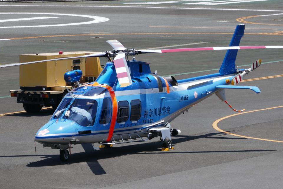TUILANYAKSUさんの神奈川県警察 AgustaWestland AW109 (JA14KP) 航空フォト