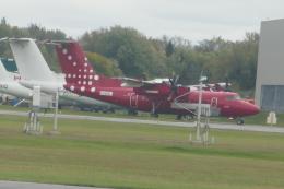 TUILANYAKSUさんが、ビリー・ビショップ・トロント・シティー空港で撮影したエア・グリーンランド DHC-7-102 Dash 7の航空フォト(飛行機 写真・画像)