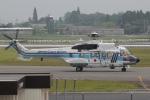 MOR1(新アカウント)さんが、鹿児島空港で撮影した海上保安庁 AS332L1 Super Pumaの航空フォト(飛行機 写真・画像)